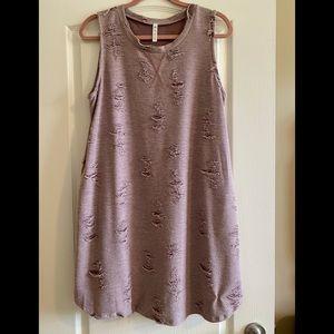 MTS Mauve Tunic Dress